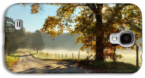 Autumn Road Galaxy S4 Case by Bill Wakeley