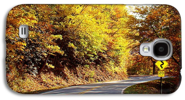 Autumn Road Galaxy S4 Case
