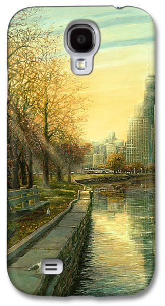 Lake Michigan Galaxy S4 Case - Autumn Serenity II by Doug Kreuger