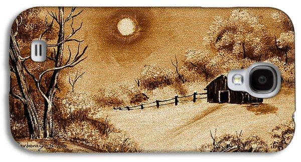 Autumn Snow Galaxy S4 Case by Barbara Griffin