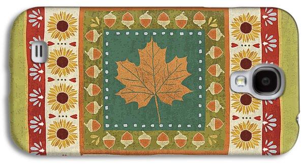 Autumn Song Tiles II Galaxy S4 Case by Veronique Charron