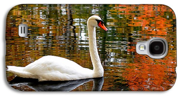 Autumn Swan Galaxy S4 Case by Lourry Legarde