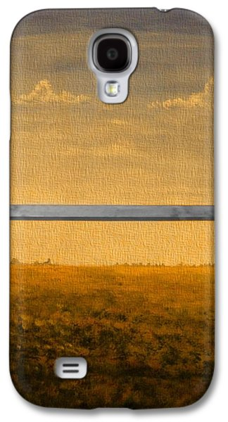 Autumn Through The Window Galaxy S4 Case by Dan Sproul