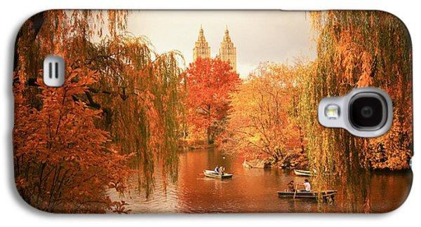 Autumn Trees - Central Park - New York City Galaxy S4 Case