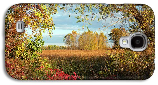 Autumn Trees Galaxy S4 Case by Jim West