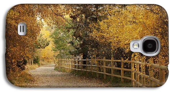 Autumn Walk Galaxy S4 Case