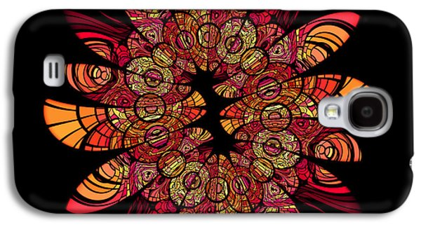 Autumn Wreath Galaxy S4 Case
