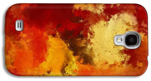 Autumn's Abstract Beauty Galaxy S4 Case by Lourry Legarde