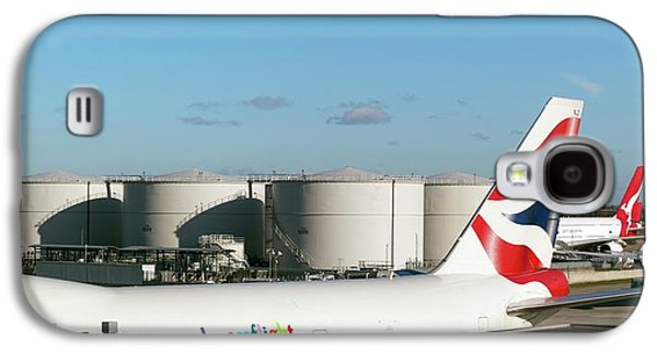 Aviation Fuel Tanks Galaxy S4 Case