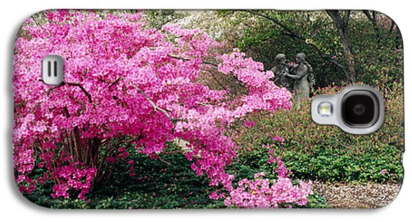 Azalea Flowers In A Garden, Garden Galaxy S4 Case by Panoramic Images