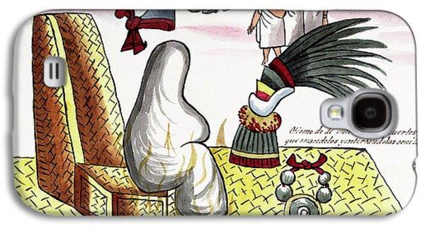 Aztec Emperor Funeral Galaxy S4 Case by Library Of Congress