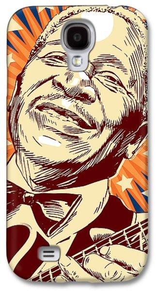 B. B. King Galaxy S4 Case by Jim Zahniser