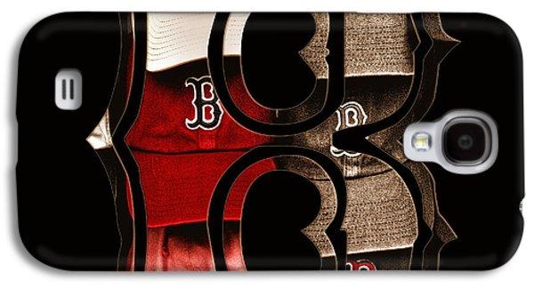 B For Bosox - Vintage Boston Poster Galaxy S4 Case by Joann Vitali