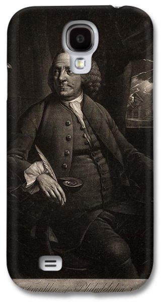 B. Franklin Of Philadelphia L.l.d. F.r.s.  M. Chamberlin Galaxy S4 Case by Litz Collection