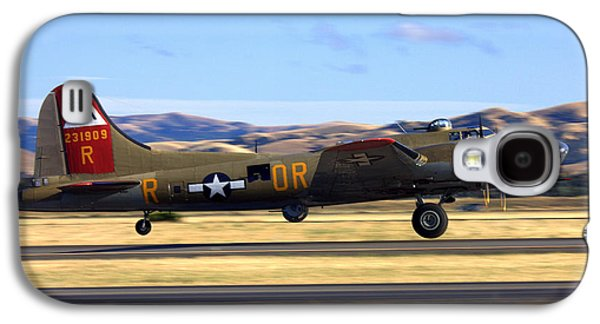 B17 Flying Fortress Departs Livermore Klvk Galaxy S4 Case