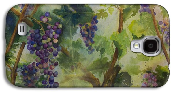 Baby Cabernets In Sunlight Galaxy S4 Case by Maria Hunt