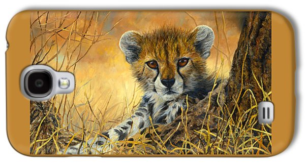 Baby Cheetah  Galaxy S4 Case