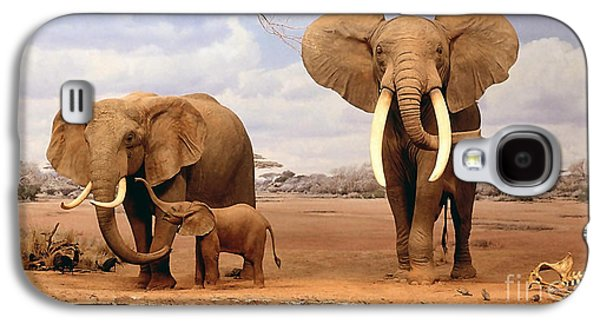 Baby Elephant Galaxy S4 Case by Marvin Blaine