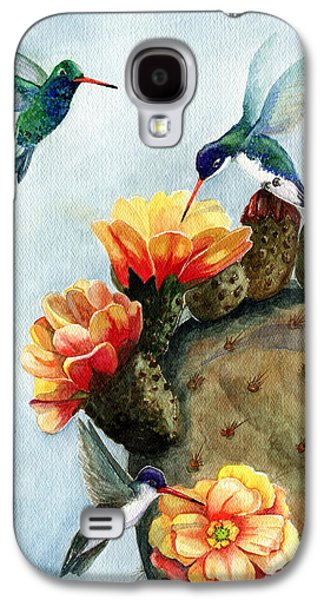 Baby Makes Three Galaxy S4 Case by Marilyn Smith