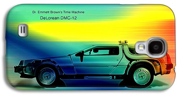 Back To The Future Galaxy S4 Case by Marvin Blaine
