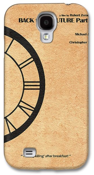 Back To The Future Part IIi Galaxy S4 Case by Ayse Deniz