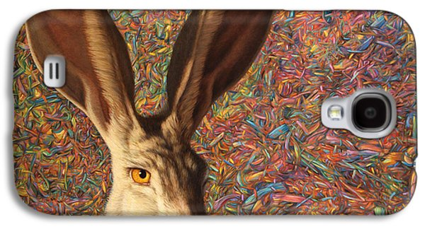 Rabbit Galaxy S4 Case - Background Noise by James W Johnson