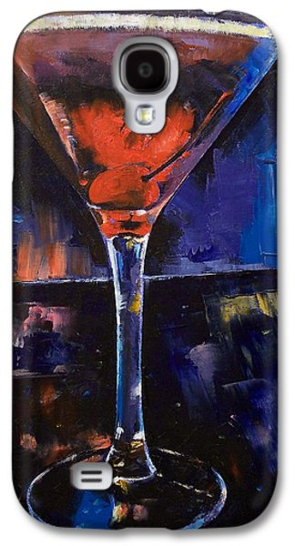 Backstage Martini Galaxy S4 Case by Michael Creese