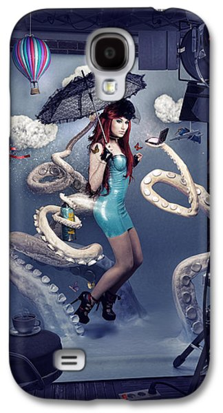 Backstage Galaxy S4 Case by Robert Palmer