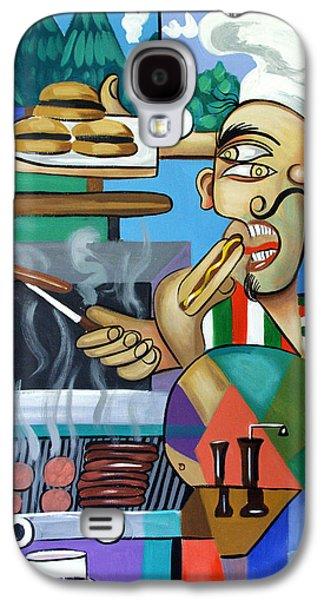 Backyard Chef Galaxy S4 Case by Anthony Falbo
