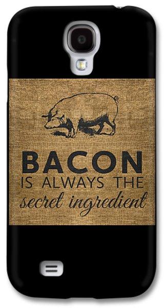 Rural Scenes Galaxy S4 Case - Bacon Is Always The Secret Ingredient by Nancy Ingersoll