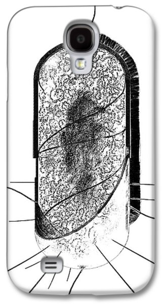 Bacterial Cell Galaxy S4 Case by Russell Kightley