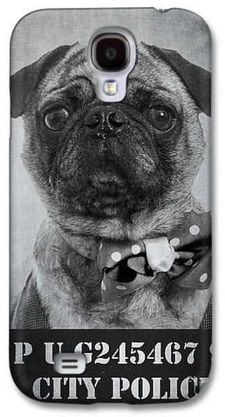 Bad Dog Galaxy S4 Case by Edward Fielding