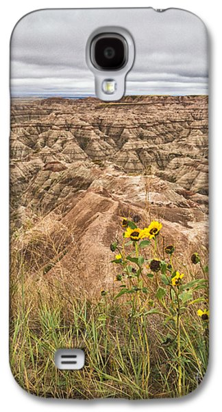 Badlands Wild Sunflowers Galaxy S4 Case