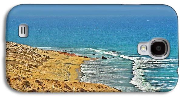 Baja California - Desert Meets Ocean Galaxy S4 Case by Christine Till