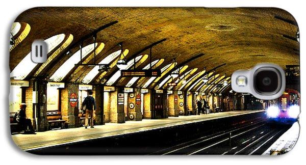 Baker Street London Underground Galaxy S4 Case by Mark Rogan