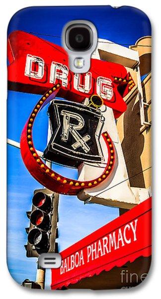 Balboa Pharmacy Drug Store Newport Beach Photo Galaxy S4 Case by Paul Velgos