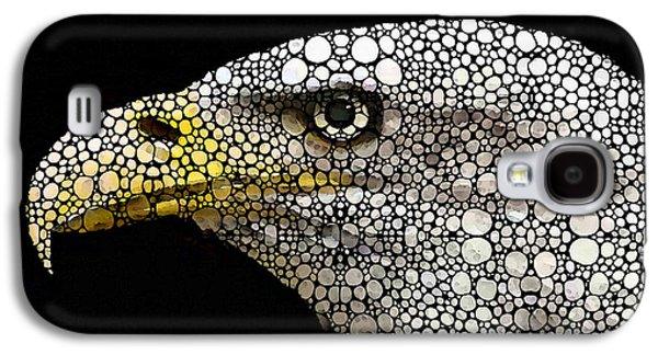 Bald Eagle Art - Eagle Eye - Stone Rock'd Art Galaxy S4 Case