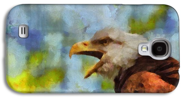 Bald Eagle Portrait Galaxy S4 Case by Dan Sproul