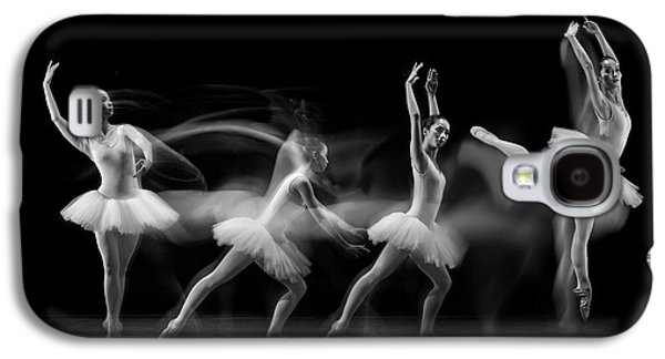 Balerina Art Wave Galaxy S4 Case
