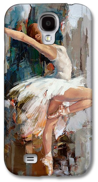 Ballerina 22 Galaxy S4 Case by Mahnoor Shah