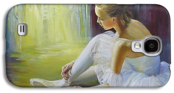 Ballerina Galaxy S4 Case by Elena Oleniuc