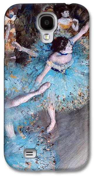 Ballerina On Pointe  Galaxy S4 Case by Edgar Degas