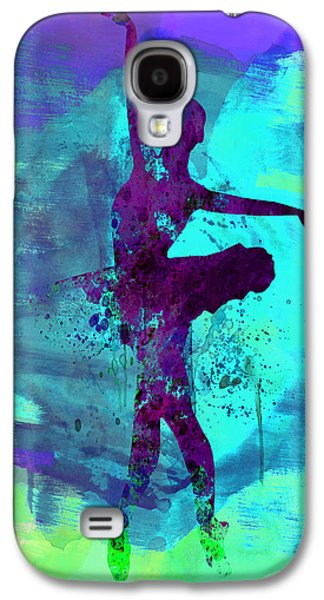 Ballerina Watercolor 4 Galaxy S4 Case