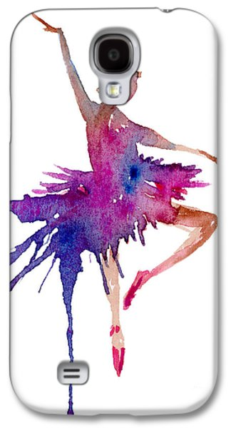 Ballet Retire Devant Galaxy S4 Case by Amy Kirkpatrick