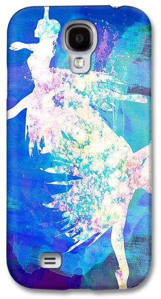 Ballet Watercolor 2 Galaxy S4 Case by Naxart Studio