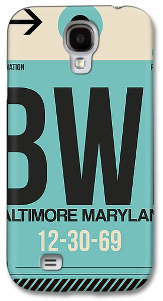 Baltimore Airport Poster 1 Galaxy S4 Case by Naxart Studio