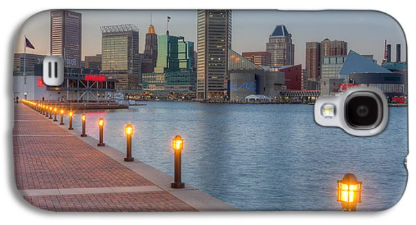 Baltimore Skyline At Twilight I Galaxy S4 Case