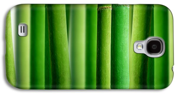 Bamboo Forest With Water Reflection Galaxy S4 Case by Aged Pixel
