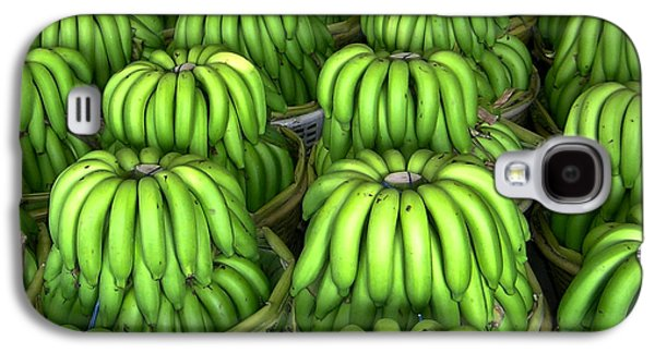 Banana Bunch Gathering Galaxy S4 Case by Douglas Barnett