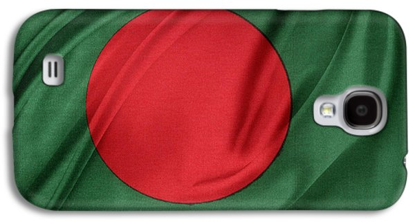 Bangladesh Flag Galaxy S4 Case by Les Cunliffe